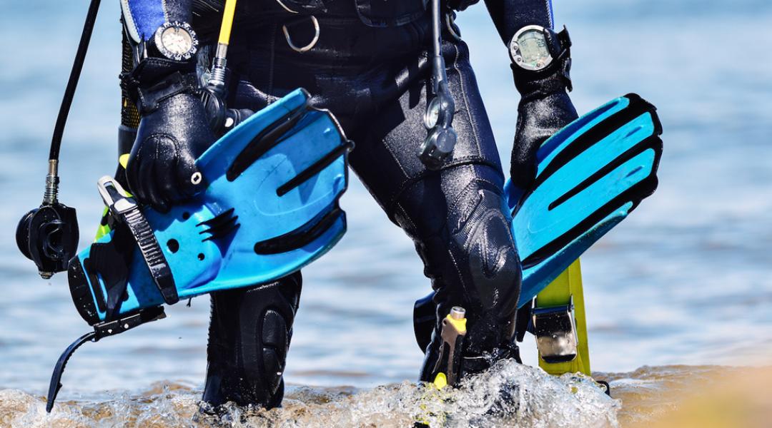 imagem-destacada-quais-sao-os-equipamentos-basicos-do-mergulho